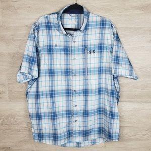Under Armour Heatgear Vented Shirt Size XL
